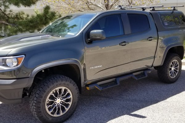 Chevy Colorado for Window Tint and Paint Protection