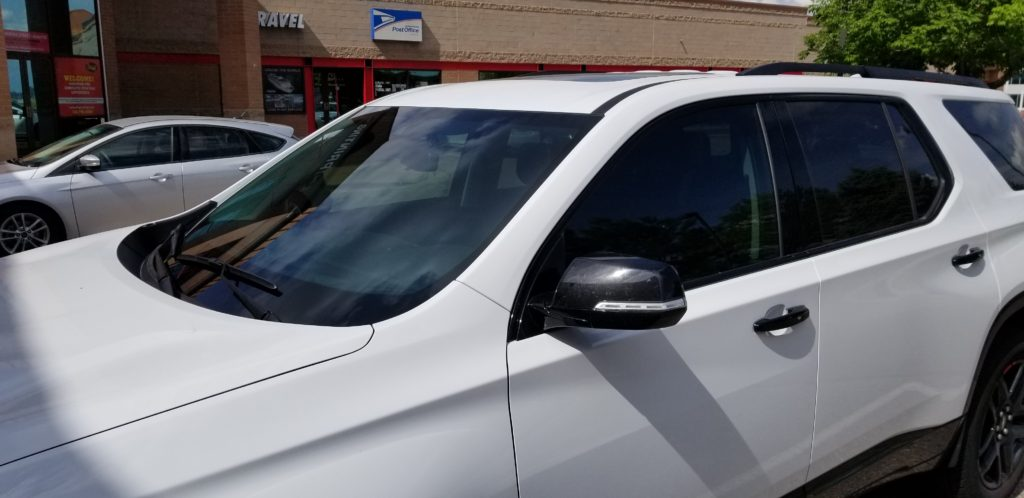 3M Crystalline Tint : Chevy Traverse