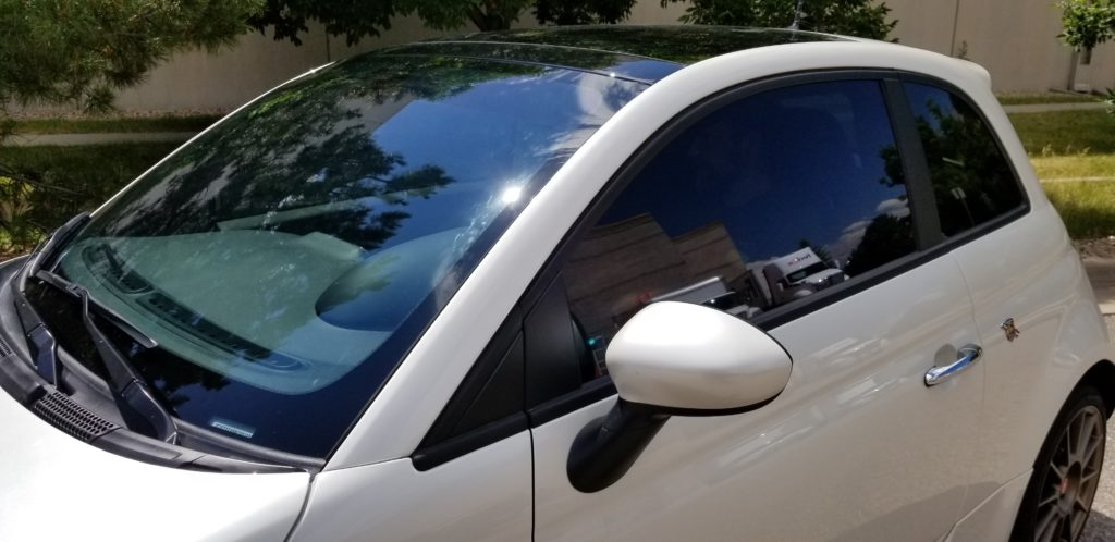 Fiat Window Tint – Crystalline at Lynx Auto Wraps & More