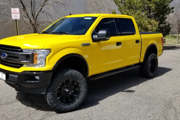 F150 Color Change to Bright Yellow