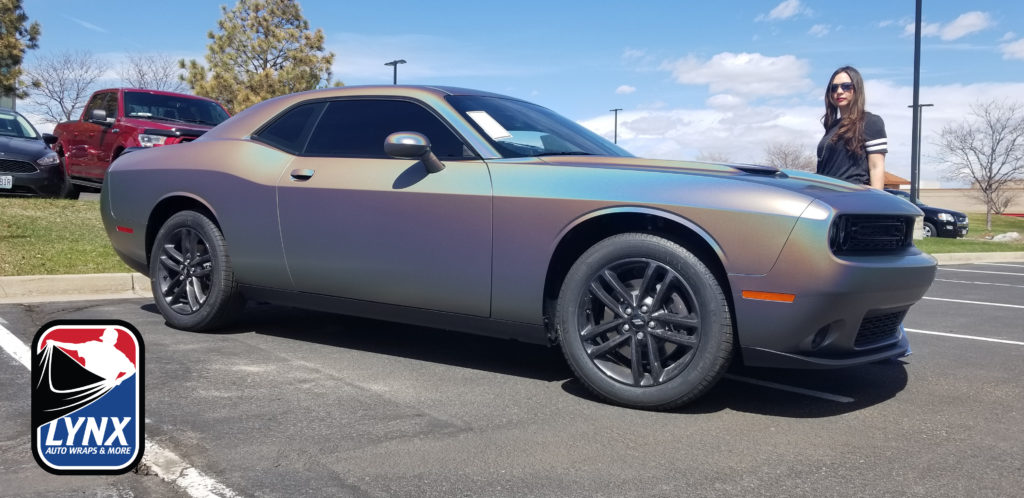 Dodge Challenger Wrap